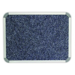 PARROT BULLETIN BOARD ALUM FRAME 1800*900MM DENIM