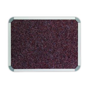 PARROT BULLETIN BOARD ALUM FRAME 600*450MM TROPICAL