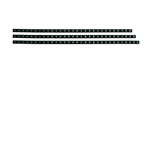 PARROT PART YEAR PLANNER DATE STRIPS 1200mm