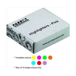 PARROT MARKER HIGHLIGHTER BOX 10 ORANGE