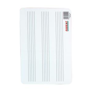 PARROT WRITING SLATE PLASTIC 297*210 MUSIC LINES