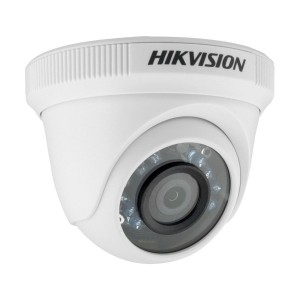 Hikvision DS-2CE56C0T-IRF 720P Turbo HD IR Turret Dome Camera with 3.6mm Fixed Lens WITH CVBS (Plastic Housing)