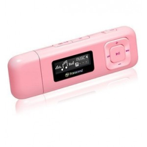 Transcend T.Sonic 330 - 8GB MP3 Player - Pink