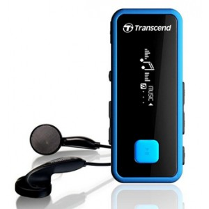 Transcend T.Sonic 350 - 8GB MP3 Player - Blue