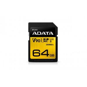 Adata Premier ONE Memory Card 64 GB SDXC Class 10 UHS-II
