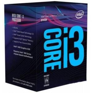 Intel Core i3 8100 Quad Core 3.6 Ghz LGA1151 Coffee Lake Processor