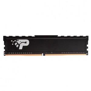 Patriot PSP48G266681H1 Signature Line 8GB DDR4 SR 2666 MHz CL19 UDIMM Memory Module with Heatshield