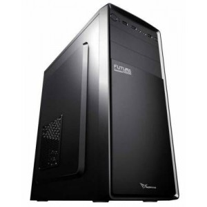 Alcatroz FUTURABN1000 Futura Black N1000  ATX Case Incl Magnum Pro 225 PSU (230W power supply)