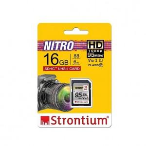 Strontium SRN16GSDU1QR 16GB Nitro SD Card