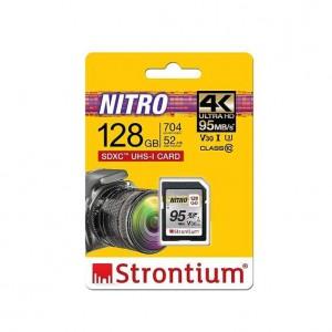 Strontium SRN128GSDU3QR 128GB Nitro SD Card