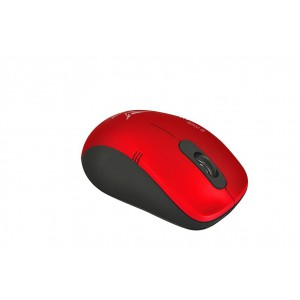 Alcatroz STEALTHAIR3MR Stealth AIR Mouse 3 Wireless Optical Mouse -Metallic Red