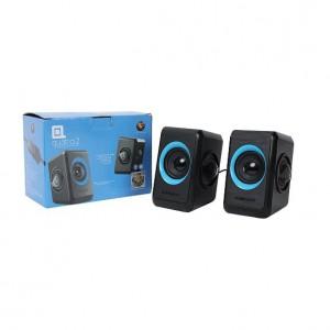 SonicGear Quatro 2 Super Loud USB Stereo Speaker Black and Turquila