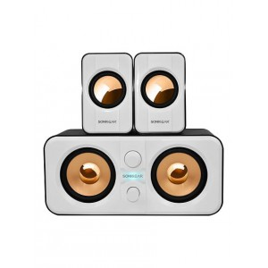 SonicGear Morro 2200 2.1 USB Speakers - White