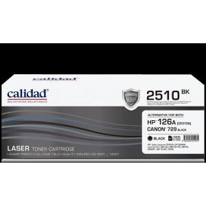 Calidad 2510-BK Black Toner