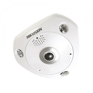 Hikvision IP Camera 6MP Fisheye IR 10m – 1.05mm Fixed