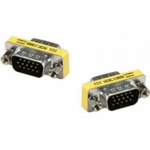 Unitek HD15 Male to HD15 Male Male Mini Adaptor