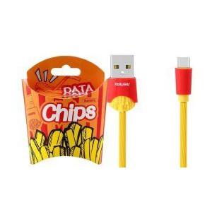 Remax 1m Chips Ser USB to Type-C CBL YEL (RC-114A)