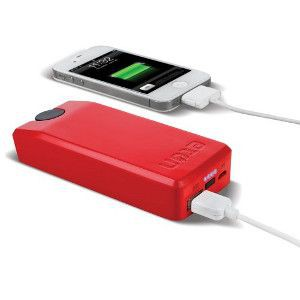 Genisat Cellphone Red Charger Emergency