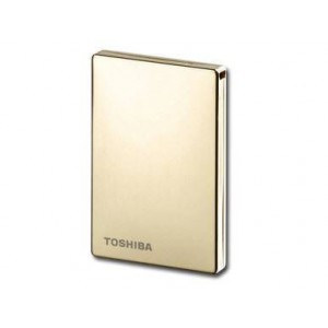 "Toshiba Stor E Steel 1.8"" 250Gb Golden Hard Drive"
