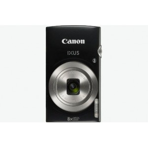 Canon IUXS 185 Black Camera 20MP 20X Zoom