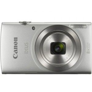 Canon IUXS 185 Silver Camera 20MP 20X Zoom