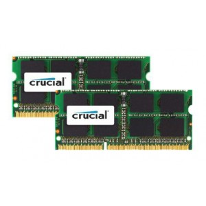 Crucial 16GB kit (2x8GB) 1600MHz MAC SO Dimm Memory