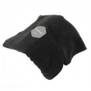 Tuff-Luv Super Soft Neck Support Travel Pillow - Black