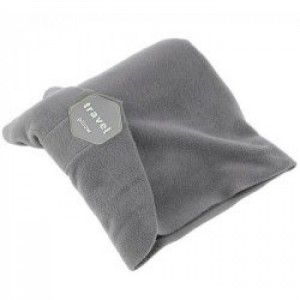 Tuff-Luv Super Soft Neck Support Travel Pillow - Gray