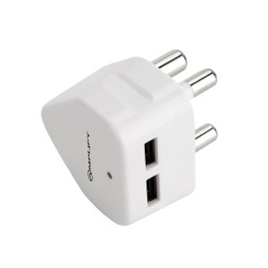 Amplify Empower Series Double USB Wall Charger - White