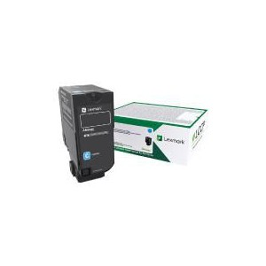 Lexmark CS/CX 727, CS728 Cyan Return Programme Toner Cartridge