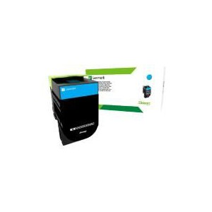 Lexmark 708HCE Cyan High Yield Corporate Cartridge