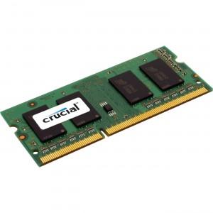 Crucial 8GB 1600MHz DDR3L ECC SO DIMM Memory