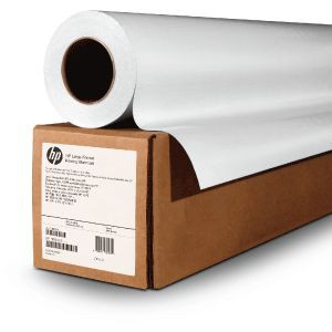 HP White Satin Poster Paper 136gsm - 1372 mm x 61 m