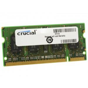 Crucial 2GB 800MHz DDR2 SO DIMM