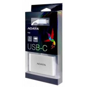 Adata ACA3HUBAL USB-C to 3 Ports USB-A 3 Hub