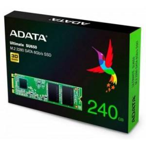 Adata SU650 series 240Gb NGFF (M.2) 3D TLC SSD
