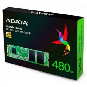 Adata SU650 series 480Gb NGFF (M.2) 3D TLC SSD