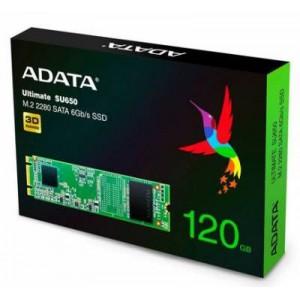 Adata SU650 series 120Gb NGFF (M.2) 3D TLC SSD