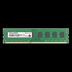 Transcend 8GB DDR3L-1600 Low Voltage \ Dual Voltage Desktop U-DIMM 1.35V/13.5V 2RX8 CL11