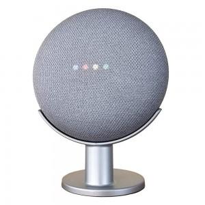 Mount Genie Google Home Mini Stand - Silver