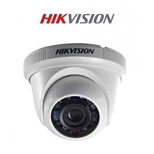 HIKVISION ANALOG DOME Camera - (Plastic) 2MP 2.8MM 20m