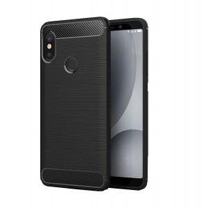 Tuff-Luv Carbon Fibre Style Case Xiaomi Mi A2 Lite - Black