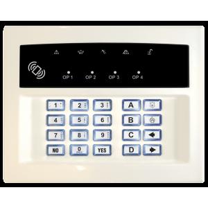 Pyronix LEDRKP/WHITE-WE Wireless Remote Keypad