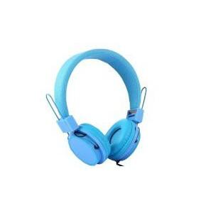 Tuff-luv Cool Kids Adjustable Headphones 3.5mm Jack  - Sky Blue