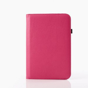 """Tuff-Luv UNI-View Rotating Case for 7"""" Tablet - Universal - Fits any 7"""" Tablet - Pink"""