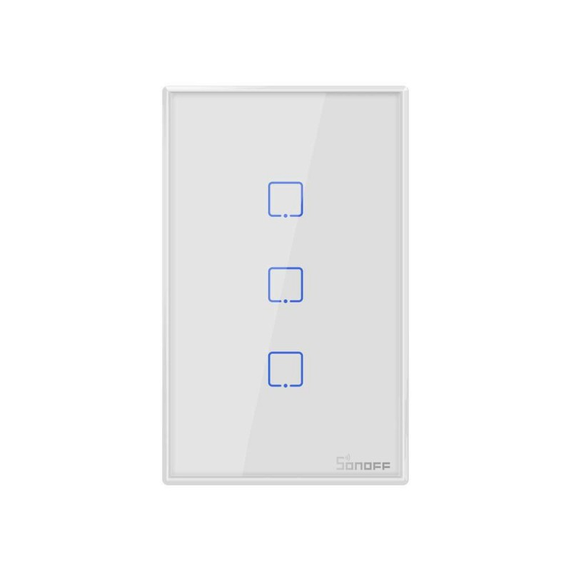 Sonoff Tx T0 Wifi Smart Light Switch 3 Gang Requires