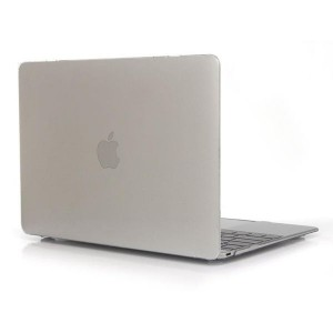 """Tuff-Luv Clear Hard-shell Crystal Case for Macbook 12"""" - Clear"""