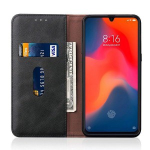 Tuff-Luv Essentials Leather Case & Stand Xiaomi Mi 9 - Black