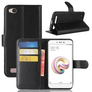 Tuff-Luv Xiaomi Redmi 5A Classic Wallet Card and Phone Holder - Black