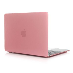 """Tuff-Luv Clear Hard-shell Crystal Case for Macbook 12"""" - Pink"""